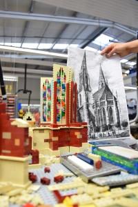 Ulmer Münster aus LEGO - Bauarbeiten 6
