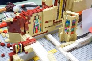 Ulmer Münster aus LEGO - Bauarbeiten 7