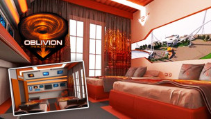 Gardaland thematisiert Hotel-Zimmer zur neuen Achterbahn Oblivion – The Black Hole