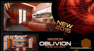 Oblivion Hotel Gardaland