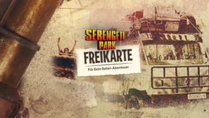 Serengeti-Park Gutschein 2016 ausdrucken: 2-für-1 Freikarte zum Download