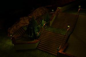Chiapas Eingang im virtuellen Modell