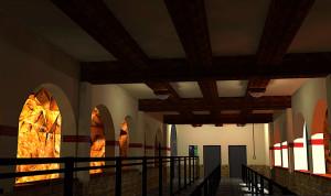 Chiapas Modell Warteschlange