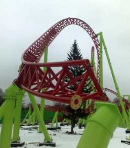 Divo Ostrov - Mack Launch Coaster - Baustelle 1