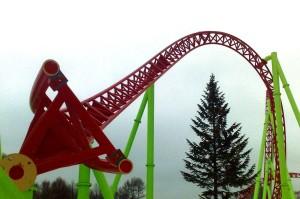 Divo Ostrov - Mack Launch Coaster - Baustelle 2