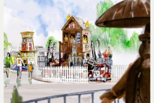 Drayton Manor Thomas Land 2015 Konzept 2