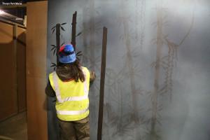 Dschungelcamp im Freizeitpark - Thorpe Park Baustellenbild 4