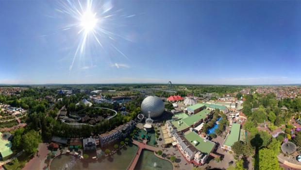 Europa-Park Aussichtsturm Blick