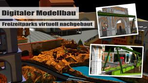 Digitaler Modellbau am PC: wie Freizeitparks von Fans virtuell entstehen, wenn der Platz knapp ist
