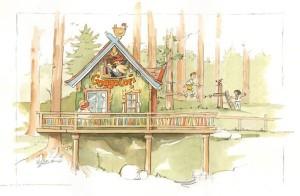 Goggolori-Baumhaus im Freizeitpark Ruhpolding