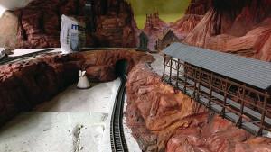 Gold Creek City - Achterbahn Theming - Freizeitpark Plohn - Baustellenbild 3
