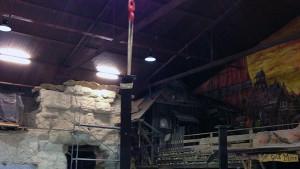 Gold Creek City - Achterbahn Theming - Freizeitpark Plohn - Baustellenbild 6