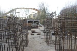 Hansa-Park - KÄRNAN Baustelle - Noch mehr Bewehrung