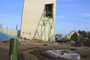 Hansa-Park - KÄRNAN Baustelle - Verfüllung