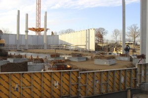 Hansa-Park - KÄRNAN Baustelle - Viele Stützenköcher