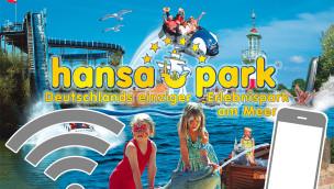 Hansa-Park – kostenloses WiFi ab 2015 überall im Park