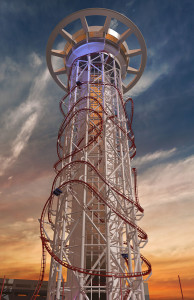 Höchster Free Fall-Tower der Welt - Skyfall in Orlando