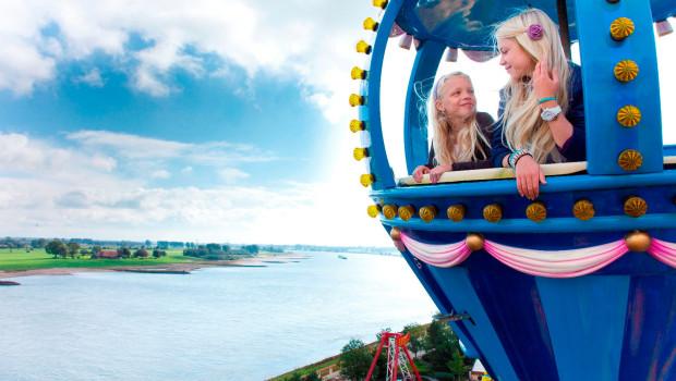 Kernie's Familienpark - Riesenrad Ausblick