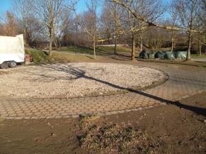 Kinderkarussell Baustelle im Skyline Park