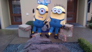 Minion-Charaktere im Movie Park Germany
