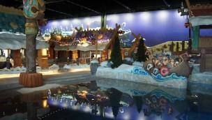 """Plopsaland De Panne-Schwimmbad """"Plopsaqua"""" ist 25 Tage vor der Eröffnung fast fertig"""