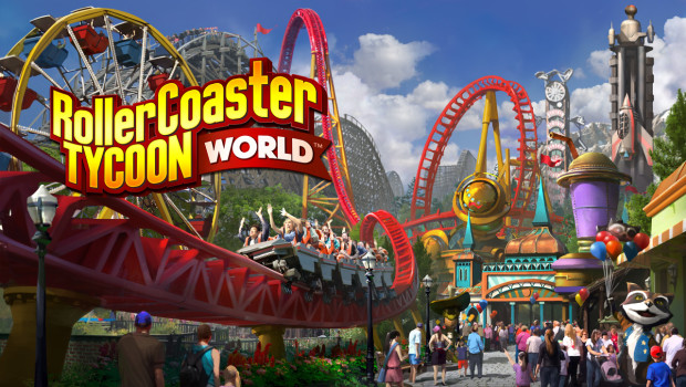 RollerCoaster Tycoon World - Key Artwork