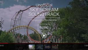 Holiday Park-Fan schreibt eigenen Soundtrack für Achterbahn Sky Scream