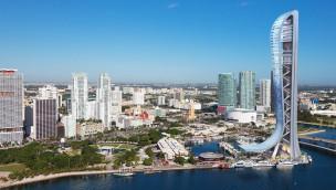 SkyRise Miami Render-Grafik