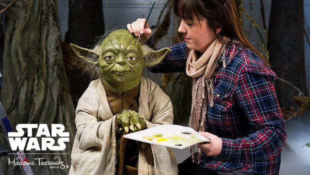 Star Wars Yoda in Madame Tussauds Berlin