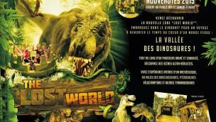 "Walygator Parc (FR) eröffnet 2015 ""The Lost World""-Themenbereich"