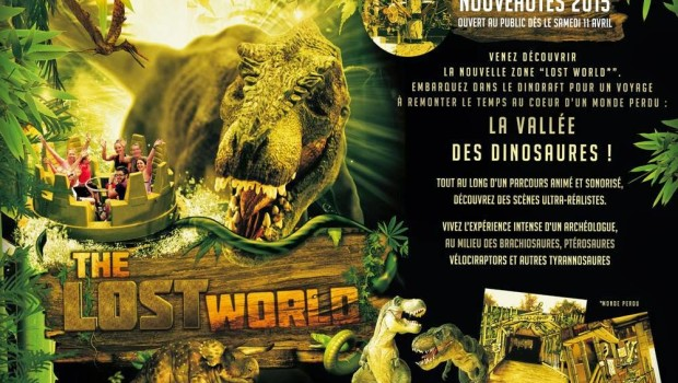 The Lost World in Walygator Parc
