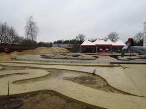 Wüstenflitzer Baustelle im Heide Park - 1
