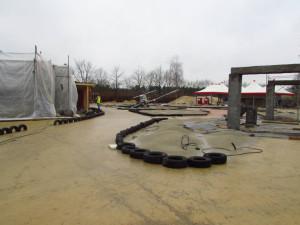 Wüstenflitzer Baustelle im Heide Park - 2