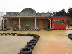 Wüstenflitzer Baustelle im Heide Park - 3