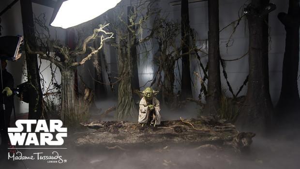 Yoda in Madame Tussauds London