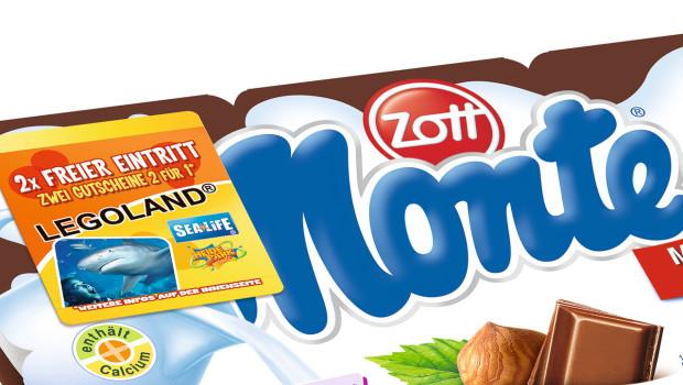 Zott Monte Gutscheine für freien Eintritt 2015