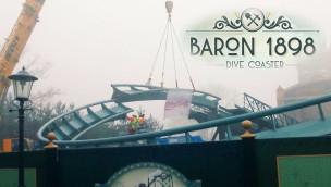 Baron 1898 Schienenschluss in Efteling