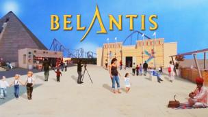 """""""Cobra des Amun Ra"""" in Belantis enthüllt: Neuheit 2015 wird eine Achterbahn"""