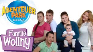 """VIP-Eintritt gewinnen: """"Die Wollnys"""" und Rekordversuch beim Abenteuer Park Oberhausen Saisonstart 2015"""