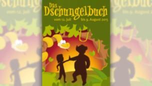 """""""Das Dschungelbuch"""" 2015 im Erlebnis-Zoo Hannover: Musical im Sommer in Showarena"""