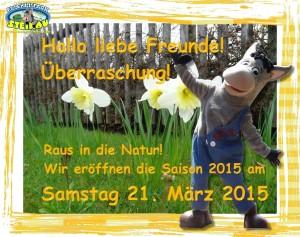Erlebnispark Steinau Saisonstart 2015