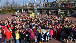 Europa-Park Schülerwettbewerb 2015 Gruppenfoto