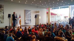 Europa-Park Spaghetti Schülerwettbewerb 2015 Begrüßung