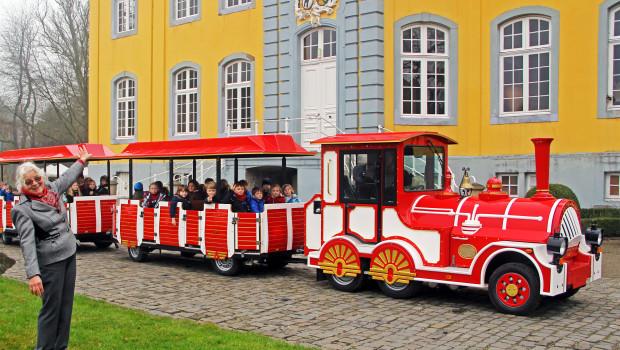 Freizeitpark Schloss Beck - neue Parkbahn 2015