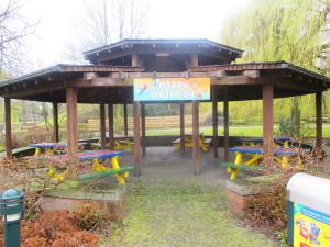 Geburtstagspavillon im Abenteuer Park Oberhausen