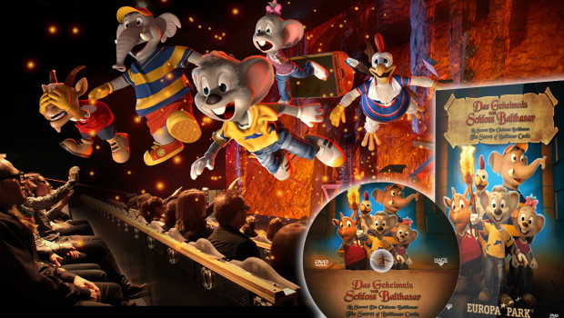Das Geheimnis von Schloss Balthasar auf DVD & Blu-ray