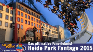 Heide Park Fanclub veranstaltet Fantage 2015 mit exklusivem Programm
