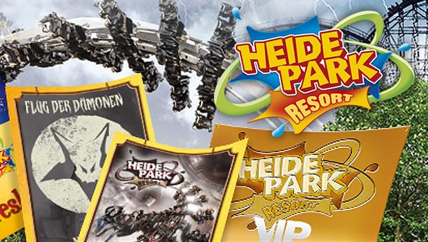 Heide Park VIP-Pakete