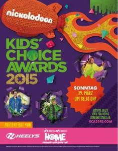 Kids Choice Awards 2015 Plakat