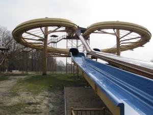 Neue Rutsche im Tier- und Freizeitpark Thüle